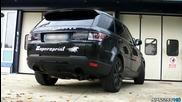 2014 Range Rover Sport 5.0 Supersprint exhaust