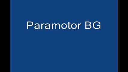paramotor tandem with ski