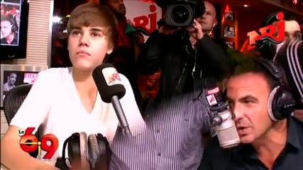 Justin Bieber Nrj interview Part 5
