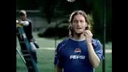 F.Totti - Pepsi Commercial