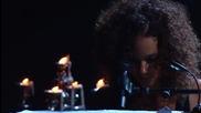 Alicia Keys - Girlfriend ( Piano & I Aol Sessions 1 )
