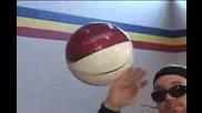 Freestyle Frenzy Q - Mack Basketball Tricks Tutorial floater