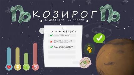 Седмичен хороскоп (3 - 9 август): Козирог