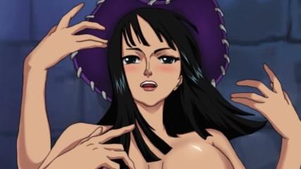 One Piece (robin) Amv (david Guetta ft Akon - Sexy Bitch)