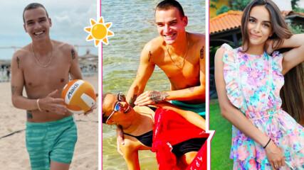 Лято по инфлуенсърски: Изи и Емил Конрад отидоха заедно на море и стана страшно... забавно