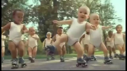 Roller Skating Babies - Boomjuice Party Out! Remix