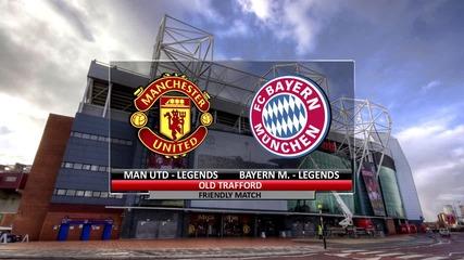 Манчестър Юнайтед (4-2) Байерн Мюнхен | Мач на Легендите