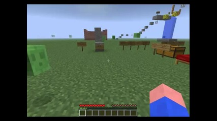 Minecraft моят Jumping map Rewie