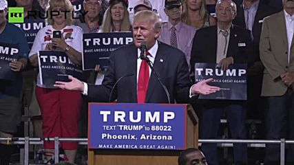 'Republican National Committee is with Me One Hundred Percent' – Trump