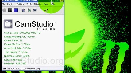 как се снима с camtasiq studio 2