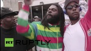 USA: Man who filmed Freddie Gray's arrest celebrates news that officers were charged