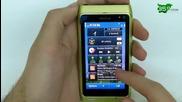 Nokia N8 Видео Ревю Адресна книга и Widgets
