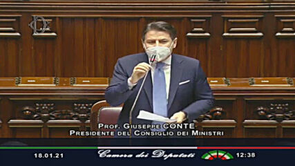 Italy: 'Now we turn the page' - Conte on political crisis at Chamber of Deputies