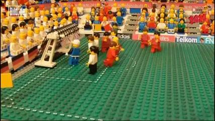 Lego Germany 4 - 1 England Worldcup 2010