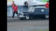 Ford Anglia vs Amc Javelin