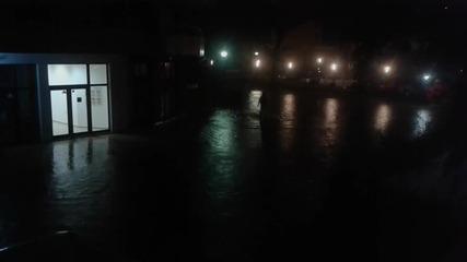 """""""Моята новина"""": Пороен дъжд превърна улиците на Слънчев бряг в реки"""