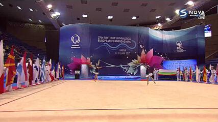 Откриване на ЕП по художествена гимнастика във Варна
