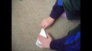 Най - яката ракетка от хартия