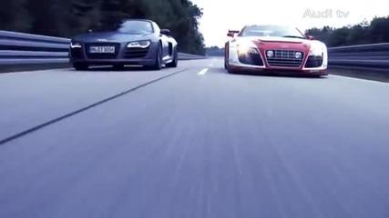 Audi R8 Gt Spyder official promo
