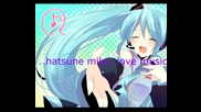 ..hatsune miku, love music..