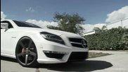 Завършения проект на Vossen Wheels с техния Mercedes Benz C L S 63 Amg