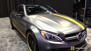 Mercedes C-class Coupe C63 Amg S - 2016 Chicago Auto Show