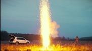 Какво ще се случи, ако запалите 1000 пръчки бенгалски огън