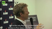 Rand Paul Opens Presidential Campaign Office in Iowa