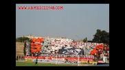 Армейските фенове на мача с локото пд 09.08.2009