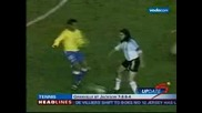 ronaldinho cant fight lol
