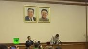 Американски студент се извининява , обвинен във враждебност срещу правителството на Северна Корея