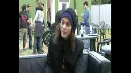 Ville at Download Fest  08 Interview
