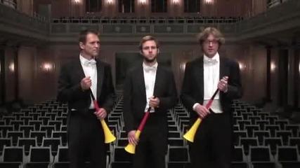 Vuvuzela goes Klassik - Brahms auf der Vuvuzela Kein Problem..
