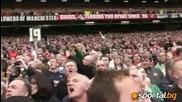 Феновете на Юнайтед със запитване към Ливерпул