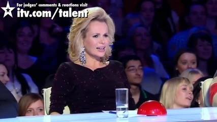 32-годишната Лорна Разгорещи Публиката и Журито - Britain's Got Talent 2011