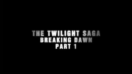 Breaking Dawn Part 1 Teaser Trailer (preview)