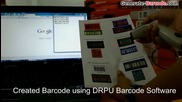 Design colorful barcode labels using Drpu Barcode Label Maker Software