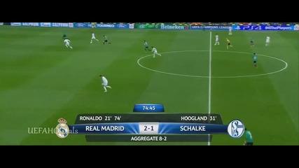 Реал Мадрид - Шалке 04 3:1  18.03.2014   Шампионска лига  