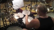 Mike Terrana gets Warmed Up - Tarja Recording Session Buenos Aries 2012