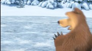 Маша и Мечока - Праздник на леда