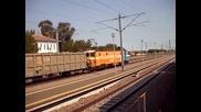 Sosirea in gara Dorobantu cu P8693 Marfar Transferoviar Grup