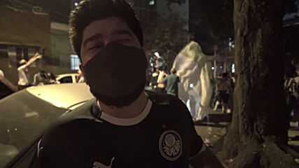Brazil: Palmeiras' fans 'too crazy' for COVID as they celebrate Sao Paulo state title
