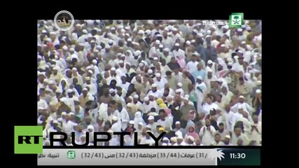 Saudi Arabia: Hundreds of thousands mass in Mecca for haij