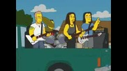 Metallica In The Simpsons