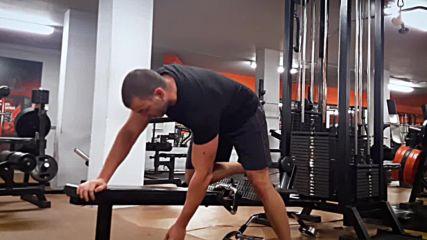 90 дневна трансформация | Изграждане на мускул, горене на мазнини | Ден 18 - Гръб, задно рамо