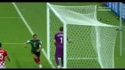 23.06.2014 Хърватия - Мексико 1:3 (световно първенство)