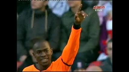 Гол номер 1 на сезона в Англия!