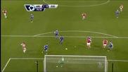 Арсенал стъпи накриво срещу Евертън, но увеличи аванса си пред Ливърпул и Челси