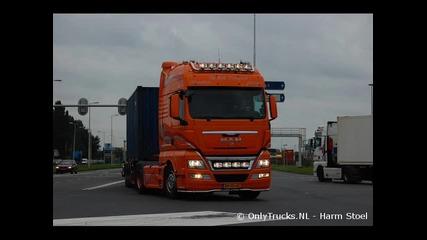 Man Tga, Tgx Trucks