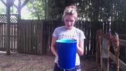 Blake Gray accepts Ice Bucket Challenge